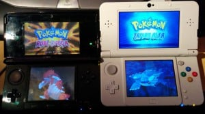 Comparativa pantallas 3DS y new 3DS
