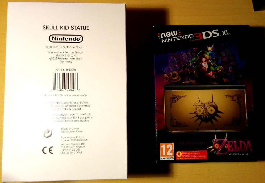 Comparativa y opinión New 3DS XL – Edición Coleccionista Zelda Majora's Mask + Figura Skull Kid
