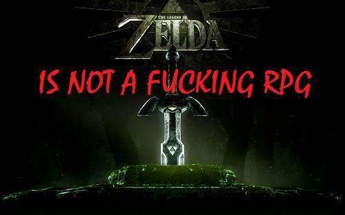 The Legend Of Zelda NO es un RPG